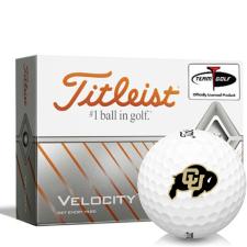 Titleist Velocity Colorado Buffaloes Golf Balls