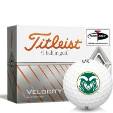 Titleist Velocity Colorado State Rams Golf Balls