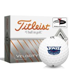 Titleist Velocity Florida Atlantic Owls Golf Balls