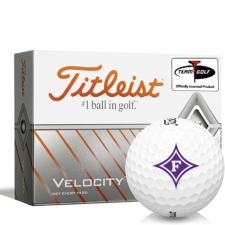 Titleist Velocity Furman Paladins Golf Balls