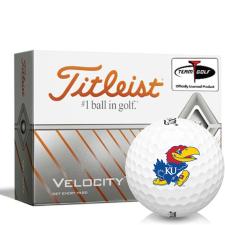 Titleist Velocity Kansas Jayhawks Golf Balls