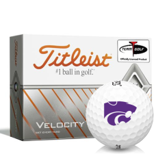 Titleist Velocity Kansas State Wildcats Golf Balls