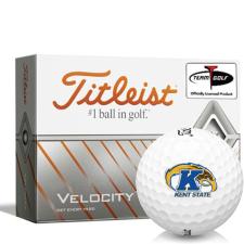 Titleist Velocity Kent State Golden Flashes Golf Balls