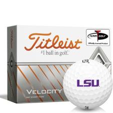 Titleist Velocity LSU Tigers Golf Balls