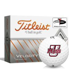 Titleist Velocity UMass Minutemen Golf Balls