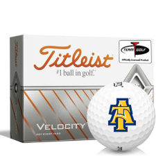 Titleist Velocity North Carolina A&T Aggies Golf Balls