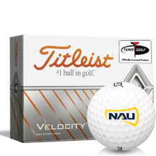 Titleist Velocity Northern Arizona Lumberjacks Golf Balls