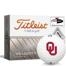 Titleist Velocity Oklahoma Sooners Golf Balls