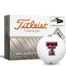 Titleist Velocity Texas Tech Red Raiders Golf Balls