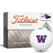 Titleist Velocity Washington Huskies Golf Balls