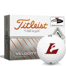 Titleist Velocity Wisconsin La Crosse Eagles Golf Balls