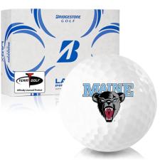 Bridgestone Lady Precept Maine Black Bears Golf Ball