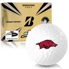 Bridgestone e12 Contact Arkansas Razorbacks Golf Balls