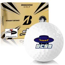 Bridgestone e12 Contact Cal Santa Barbara Gauchos Golf Balls