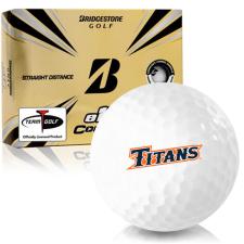 Bridgestone e12 Contact Cal State Fullerton Titans Golf Balls