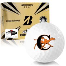 Bridgestone e12 Contact Campbell Fighting Camels Golf Balls