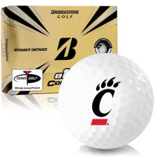 Bridgestone e12 Contact Cincinnati Bearcats Golf Balls