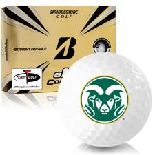 Bridgestone e12 Contact Colorado State Rams Golf Balls