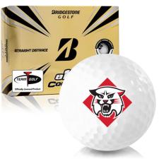 Bridgestone e12 Contact Davidson Wildcats Golf Balls