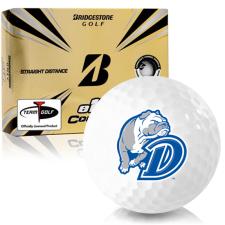 Bridgestone e12 Contact Drake Bulldogs Golf Balls