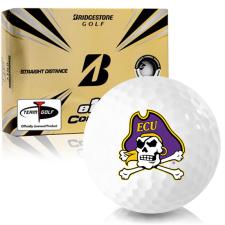 Bridgestone e12 Contact East Carolina Pirates Golf Balls