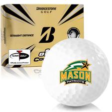 Bridgestone e12 Contact George Mason Patriots Golf Balls