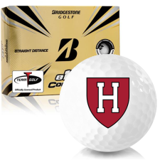 Bridgestone e12 Contact Harvard Crimson Golf Balls