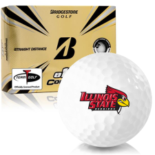 Bridgestone e12 Contact Illinois State Redbirds Golf Balls