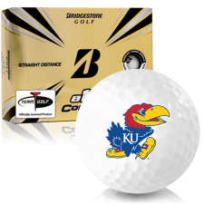 Bridgestone e12 Contact Kansas Jayhawks Golf Balls
