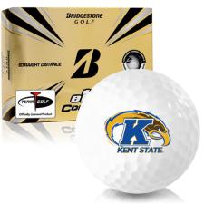 Bridgestone e12 Contact Kent State Golden Flashes Golf Balls