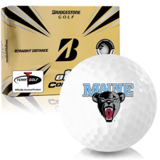 Bridgestone e12 Contact Maine Black Bears Golf Balls