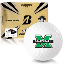 Bridgestone e12 Contact Marshall Thundering Herd Golf Balls