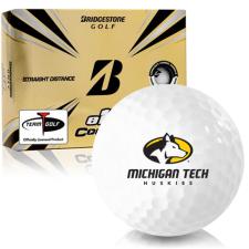 Bridgestone e12 Contact Michigan Tech Huskies Golf Balls