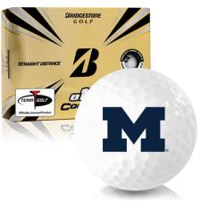 Bridgestone e12 Contact Michigan Wolverines Golf Balls