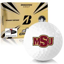Bridgestone e12 Contact Midwestern State Mustangs Golf Balls
