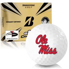 Bridgestone e12 Contact Ole Miss Rebels Golf Balls