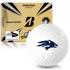 Bridgestone e12 Contact Nevada Wolfpack Golf Balls