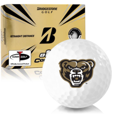 Bridgestone e12 Contact Oakland Golden Grizzlies Golf Balls