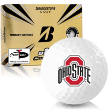 Bridgestone e12 Contact Ohio State Buckeyes Golf Balls