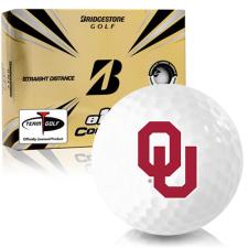 Bridgestone e12 Contact Oklahoma Sooners Golf Balls