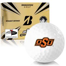 Bridgestone e12 Contact Oklahoma State Cowboys Golf Balls