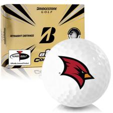 Bridgestone e12 Contact Saginaw Valley State Cardinals Golf Balls