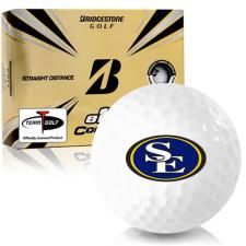 Bridgestone e12 Contact Southeastern Oklahoma State Savage Storm Golf Balls