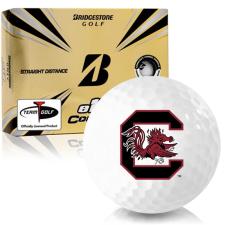 Bridgestone e12 Contact South Carolina Fighting Gamecocks Golf Balls