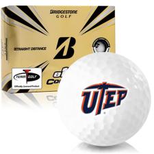 Bridgestone e12 Contact Texas El Paso Miners Golf Balls
