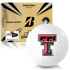 Bridgestone e12 Contact Texas Tech Red Raiders Golf Balls