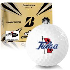Bridgestone e12 Contact Tulsa Golden Hurricane Golf Balls