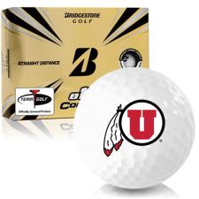 Bridgestone e12 Contact Utah Utes Golf Balls