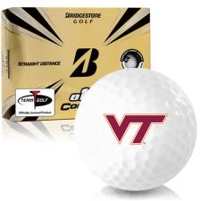 Bridgestone e12 Contact Virginia Tech Hokies Golf Balls
