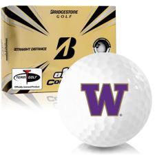 Bridgestone e12 Contact Washington Huskies Golf Balls